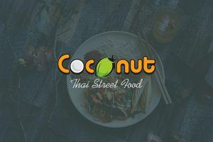thiết kế logo thương hiệu nhà hàng coconut
