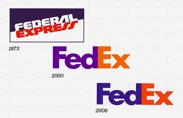 The Fedex Logo History The Federal Express And Hidden Symbol Logo