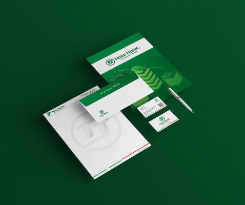 thiết kế bộ nhận diện thương hiệu Triều Trung Technologies